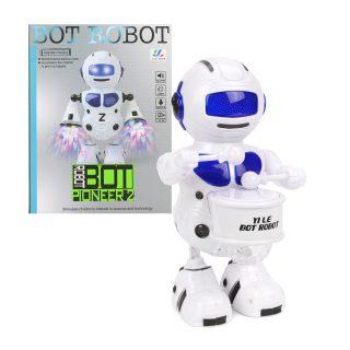 Робот эл., Барабанщик,  свет, звук, в ассортименте, эл.пит.АА*3шт.не вх.в комплект