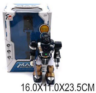Робот эл., свет, звук, в ассорт., эл.пит.АА*2шт.не вх.в комплект