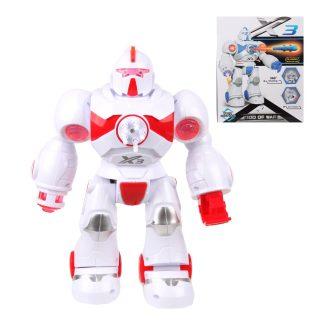 Робот эл., свет, звук, стреляет ракетами 5шт., эл.пит.АА*3шт.не вх.в комплект