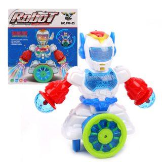 Робот эл., свет, звук, эл.пит.АА*3шт.не вх.в комплект, в ассортименте