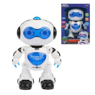 Робот эл., свет, звук, эл.пит.АА*3шт.не вх.в комплект, коробка