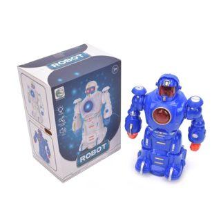 Робот эл., свет, звук, эл.пит.ААА*3шт.не вх.в комплект, коробка, в ассортименте