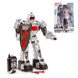 Робот p/у, 37 см., двигается, стреляет, свет, звук, эл.пит.АА*6шт.не вх.в комплект