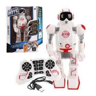 Робот на р/у Xtrem Bots: Шпион, свет. и звук. эффекты