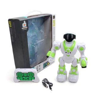 Робот р/у, ИК управление, 21 канал, свет, звук, аккум.встроен., USB шнур, эл.пит.АА*2шт.не вх.в комплект