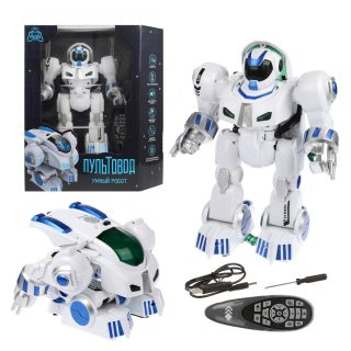 Трансформер Робот р/у, свет, звук, встроен.аккум., USB шнур, эл.пит.АА*2шт.не вх.в комплект