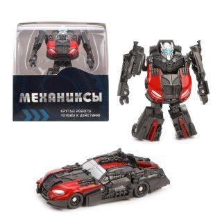 Трансформер Робот-машина, подвижные суставы, коробка