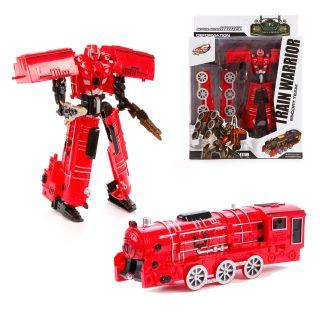 Трансформер Робот-паровоз, аксессуары