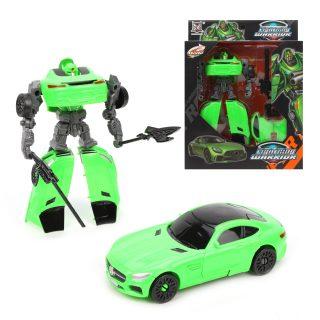 Трансформер, Робот-машина, оружие 2шт., коробка