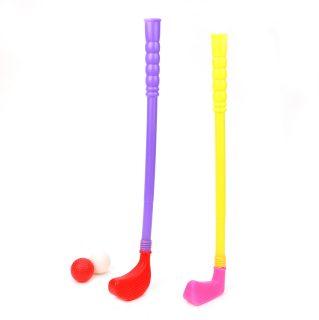 Набор для игры в гольф 4 предм., дл.клюшки 43 см, сетка