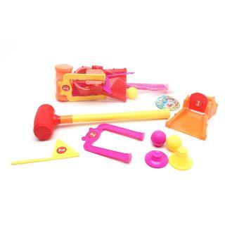 Набор для игры в крокет Меткий бросок, 8 предметов