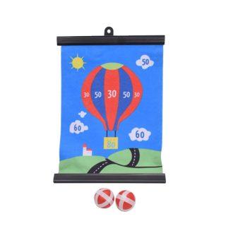 Дартс детский, шарики на липучке 2 шт., пакет