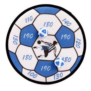 Дартс детский Футбольный мяч 28 см, шарики на липучке 2 шт