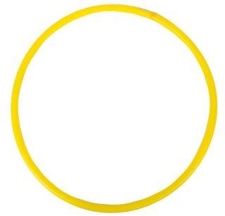 Обруч d 60см желтый