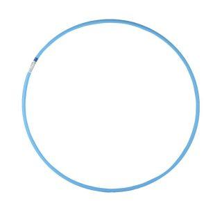 Обруч d 60см облегченный голубой