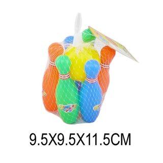 Набор для игры в боулинг 11,5 см, мяч, 6 кеглей