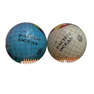 Мяч детский 22 см, Глобус, в ассорт.