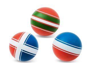 Мяч детский 7,5 см, Серия Классика ручное окраш., в ассорт.