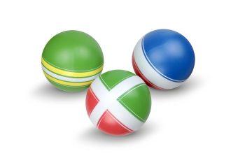 Мяч детский Классика 20 см, ручное окраш., в ассорт.