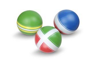 Мяч детский Классика, 10 см, ручное окраш., в ассорт.