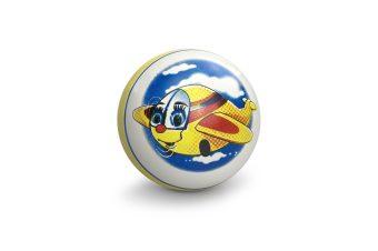 Мяч детский с рисунком 12,5 см, в ассорт.