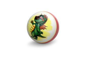 Мяч детский с рисунком 15 см, в ассорт.