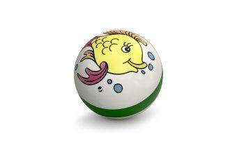 Мяч детский с рисунком 7,5 см, в ассорт.