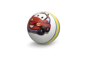 Мяч детский с рисунком,10 см, в ассорт.