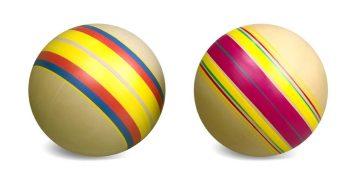 Мяч детский Эко Дорожки, 20 см, ручное окраш.,в ассорт.