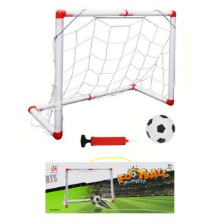 Набор Футболиста, ворота 54*46*31 см, мяч, насос с иглой, коробка
