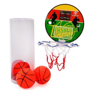 Набор для игры баскетбол Чемпион-2, щит 15см, мяч 8см *3шт, а ассорт., кор.