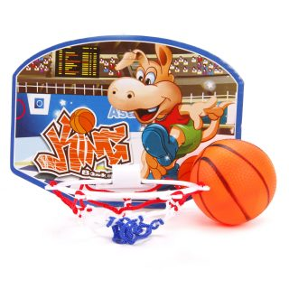 Набор для игры в баскетбол 19*14 см, мяч