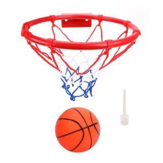 Набор для игры в баскетбол Профи, кольцо металл 22 см, мяч, игла для насоса, крепление