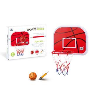 Набор для игры в баскетбол Профи, щит, мяч, насос