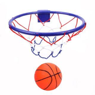 Набор для игры в баскетбол, кольцо 26 см, мяч