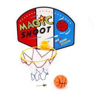 Набор для игры в баскетбол, щит 33,5х24,5 см, мяч