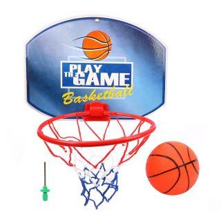 Набор для игры в баскетбол, щит 35*25,5 см, мяч, игла для насоса