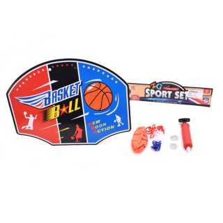 Набор для игры в баскетбол, щит, мяч, насос