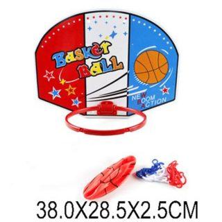 Набор для игры в баскетбол, щит, мяч.