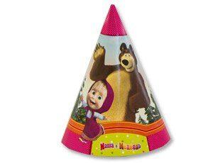 Колпак Маша и Медведь 6шт