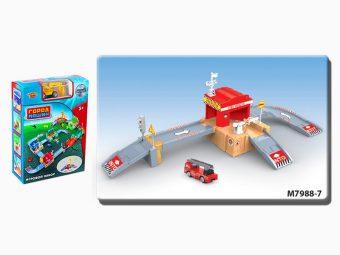 Игр.набор Пожарная станция, в комплекте предметов 32шт., коробка