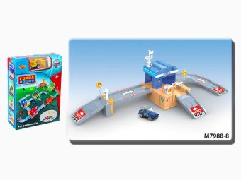 Игр.набор Полиция, в комплекте предметов 32шт., коробка