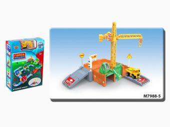 Игр.набор Стройплощадка, в комплекте предметов 28шт., коробка