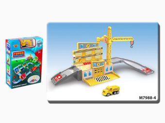 Игр.набор Стройплощадка, в комплекте предметов 33шт., коробка