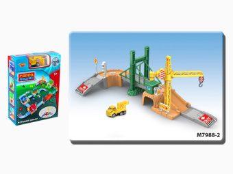 Игр.набор Стройплощадка, в комплекте предметов 35шт., коробка