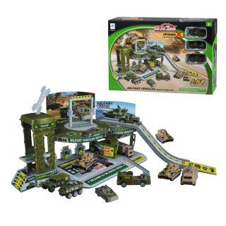 Игр.набор Военная база, 6 предметов