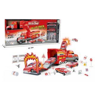 Игр.набор Пожарная станция, 9 предметов