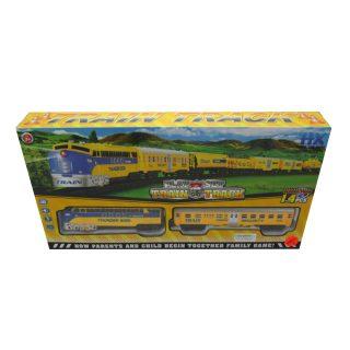 Игр.набор Железная дорога эл., свет, звук, в комплекте предметов 14шт., эл.пит.АА*3шт.не вх.в комплект, коробка