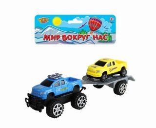 Игр.набор Автовоз, в комплекте: машина инерционная, машина без механизма, пакет