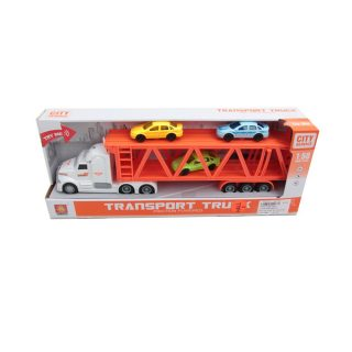 Игр.набор Автовоз, в комплекте: машинки 3шт., автовоз инерц. эл., свет, звук, эл.пит.AG13*3шт.не вх.в комплект, в коробке
